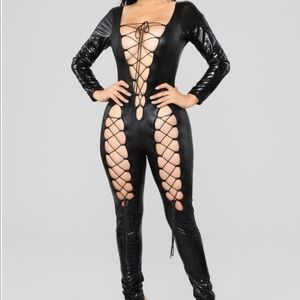 Other - Latex Lace Bodysuit